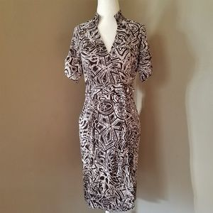 Diane Von Furstenberg Anoush Silk Wrap Dress Sz 6